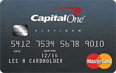 How do I activate Capital e Platinum Mastercard