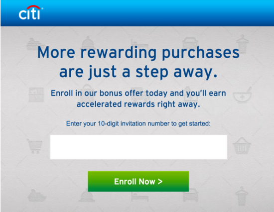 Citibank Credit Card Special Offers Credit Card